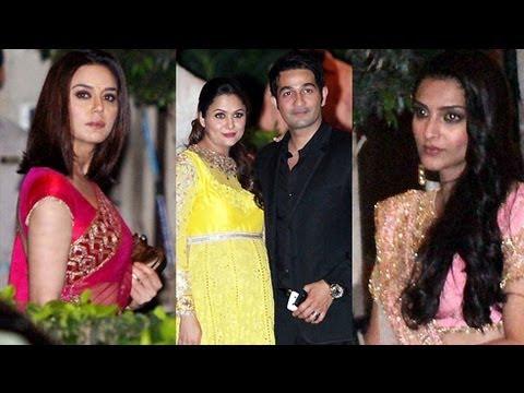 Sonam Kapoor, Preity Zinta, Amrita Arora @ Saif - Kareena's Reception