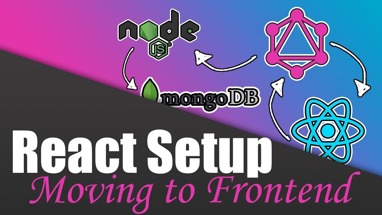 #11 The React Frontend | Build a Complete App with GraphQL, Node js,  MongoDB and React js