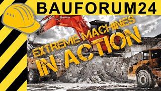 EXTREME MACHINES: Hitachi EX1900-6 Excavator in Quarry Action - Kaolin Hirschau - Bauforum24