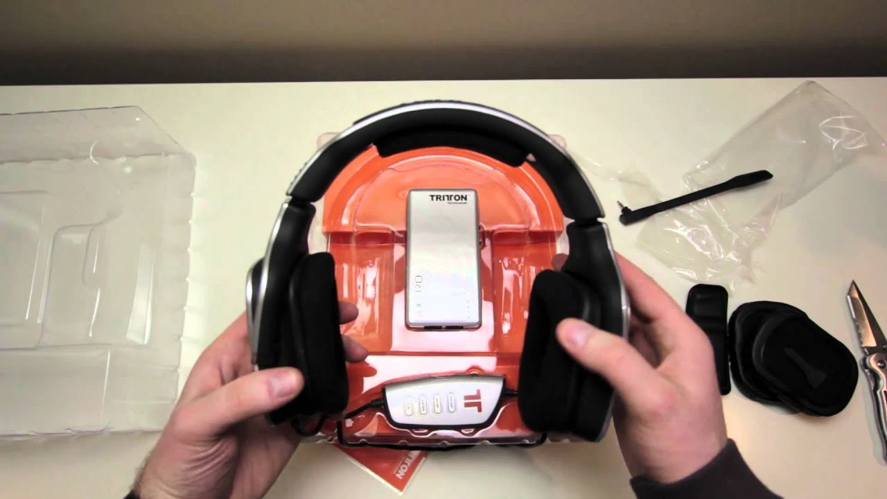 a574e40fd7b Tritton AX Pro Headset Unboxing & Overview - YouTube