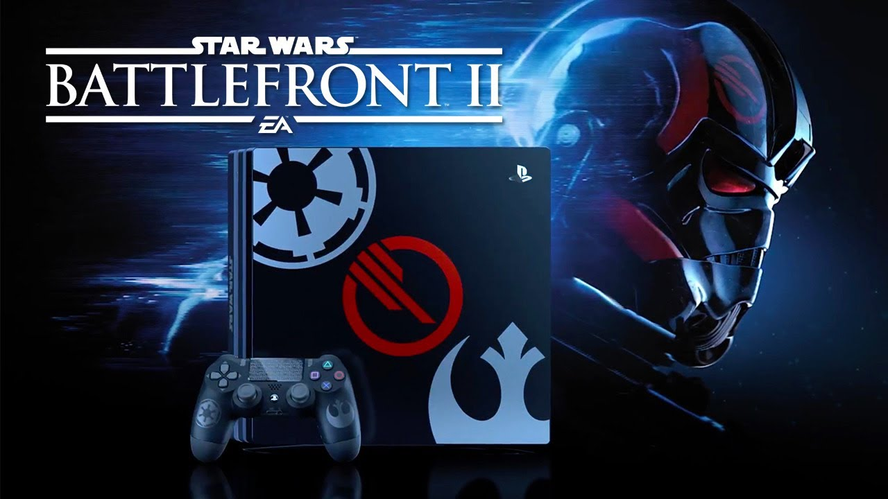 Limited edition ps pro trailer star wars battlefront ii