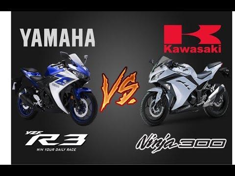 ¿Que moto comprar? Yamaha r3 vs Kawasaki ninja 300