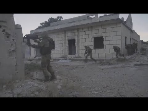"""SYRIA. Training """"82 squad of special forces"""" in Idlib"""