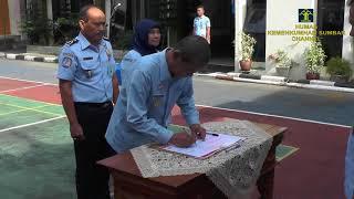 Upacara Deklarasi Kinerja 2018 : Kanwil Kementerian Hukum dan HAM Sumbar