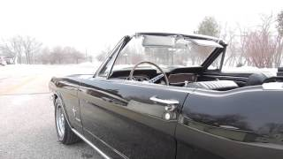 1965 ford black mustang convertible pony for sale at www coyoteclassics com