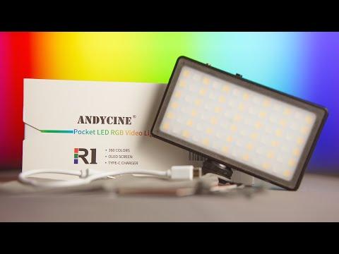 The Andycine R1 Pocket LED RGB Light