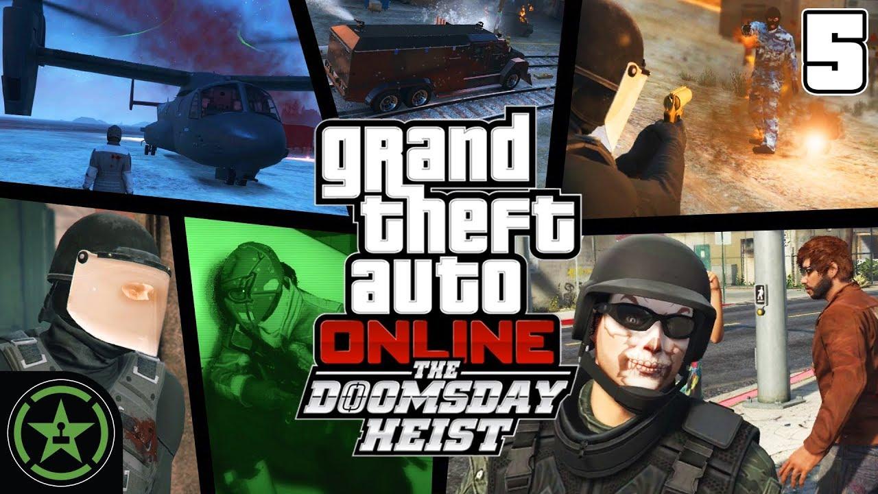gta online how to start doomsday heist