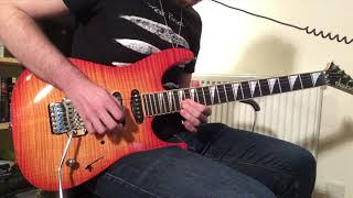 KISS - Turn On the Night (Guitar Cover)