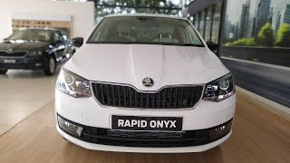NEW Skoda Rapid ONYX Limited Edition Cra Review