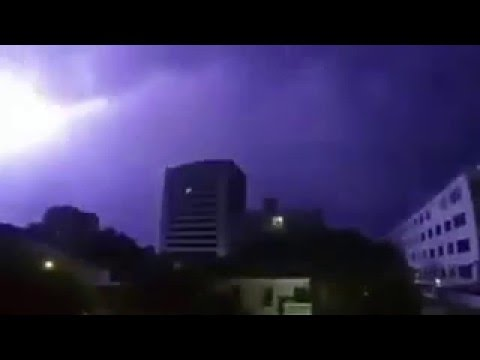 Thunderstorms in Hyderabad