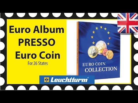 PRESSO Euro Coin Collection coin album for 26 sets Leuchtturm 346511