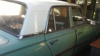 The birthday boy in his 1965 Valiant AP6