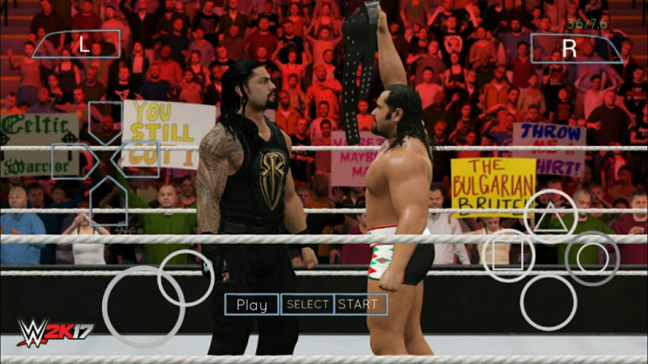 DOWNLOAD WWE 2K17 IN ANDRIOD WITHOUT ANY VERIFICATION #1
