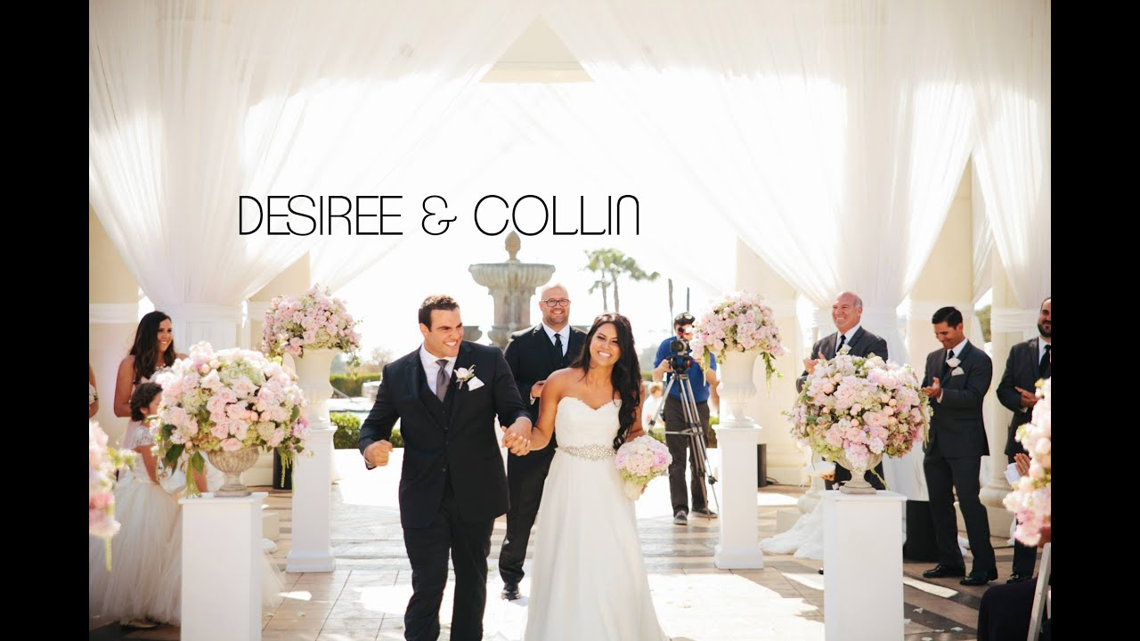 Collin Desiree St Regis Monarch Dana Point Wedding Video
