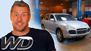 Porsche Cayenne Turbo S: How To Fix The Suspension And A Rattling Prop-Shaft | Wheeler Dealers
