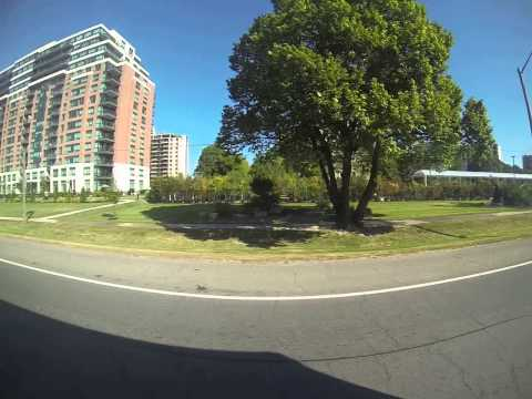 Etobicoke Toronto Ontario Canada From La Rose Ave to Royal York Station) Part 1