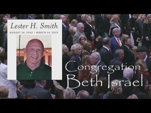 Family, friends say goodbye to Houston philanthropist Lester Smith