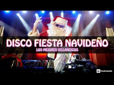 DISCO FIESTA NAVIDEÑO, Villancicos Mix, Popurrí, Recopilatorio, Happy Christmas, Fiestas Navidad