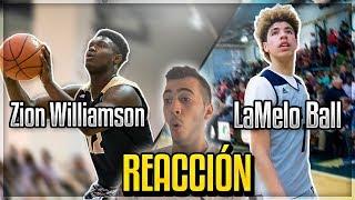 LaMelo Ball vs Zion Williamson | REACCIÓN