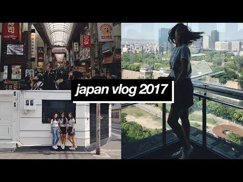 Osaka Trip 2017 || Day 1! (Osaka Castle Museum, Osaka Museum of History, Umeda Sky Building)