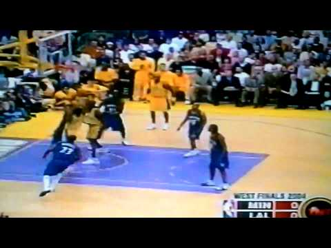 Kobe dunks on Michael Olowokandi