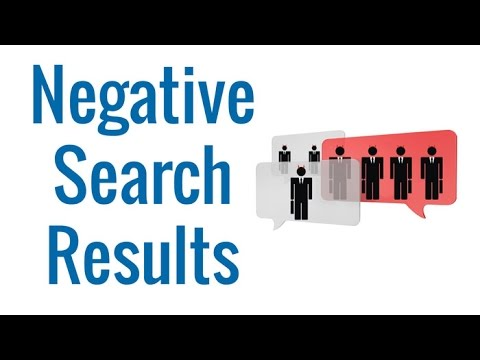 Clear Your Negative Search Results   Coalition Technologies