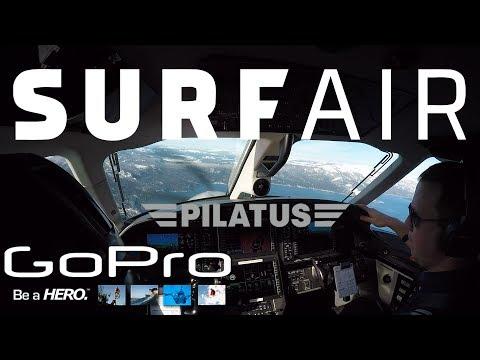 Surf Air - Winter flying GoPro adventures