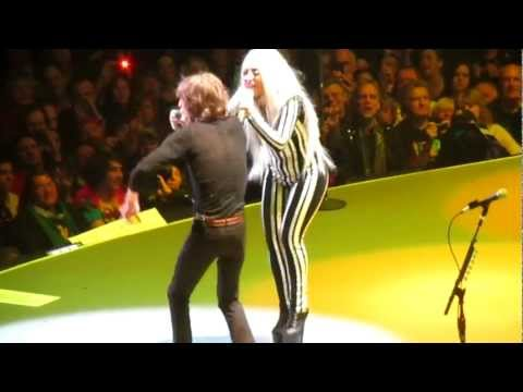 The Rolling Stones Gimme Shelter with Lady GaGa