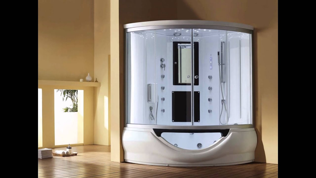 Spa Tub Jacuzzi Shower Combination Whirlpool Door Inflatable