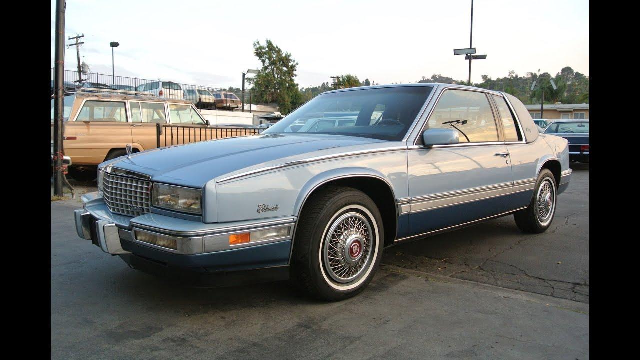 1 Owner 1988 Cadillac Eldorado Biarritz 2 Door Coupe 4.5