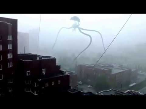A Real Alien Tripod in Russia!