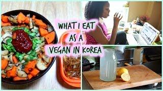 What I Eat As A Vegan In Korea 4/12/15