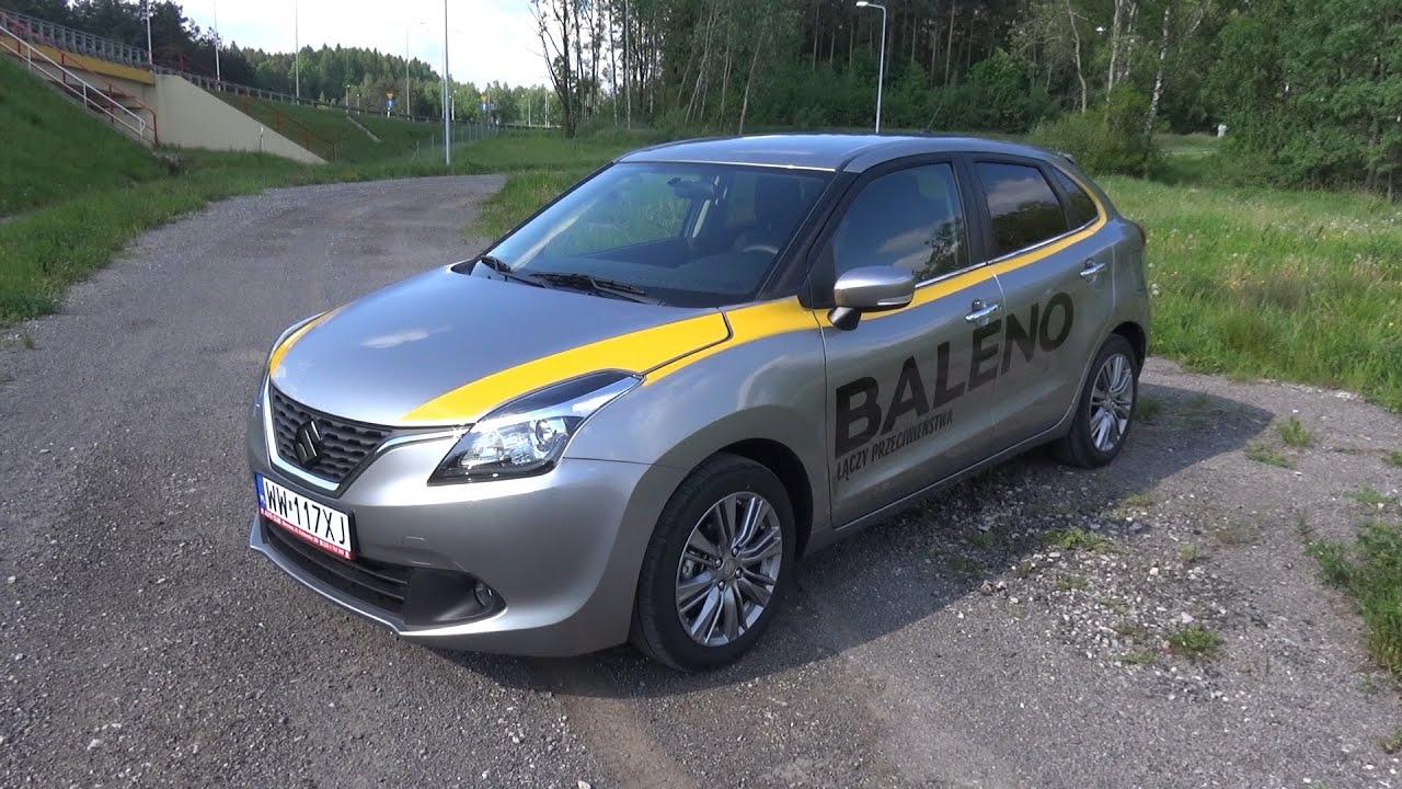 2016 Suzuki Baleno 1.2 DualJet Test PL / Prezentacja / In