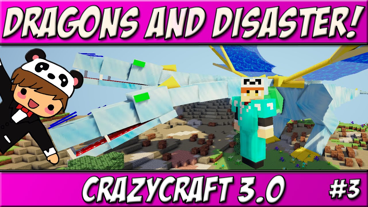 Dragons Disaster Ep 3 Crazycraft 3 0 Roleplay Youtube
