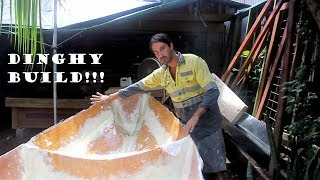 The EPIC Dinghy Build! (Building a Chameleon Dinghy) Chuffed Adventures S2Ep16