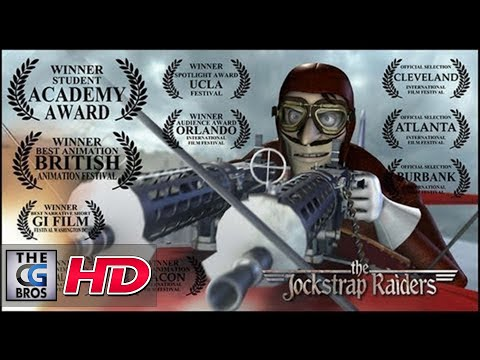 "CGI **Award-Winning** 3D Animated Short HD: ""The JockStrap Raiders"" - by Mark Nelson"