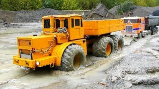 RC Construction Site EXTREME! Heavy RC Trucks & Vehicles in the Mud! Cool RC Toys