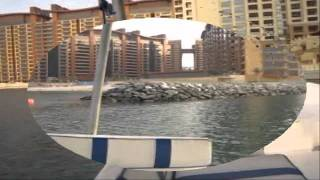 Our New Boat Parking at Palm Jumeira Marina-Dubai