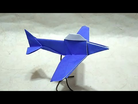 origami jet aircraft tutorial hadi tahir youtube