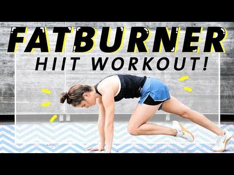 Ganzkörper HIIT Workout | Effektiv Fett verbrennen | 15 Minuten ohne Geräte
