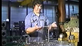 Moteur diesel PC4 Rénovation d'une soupape d'échappement