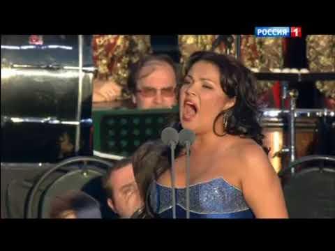 Анна Нетребко ария Леоноры из оперы Трубадур