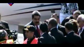 Presidente Nicolás Maduro arribó a Costa Rica