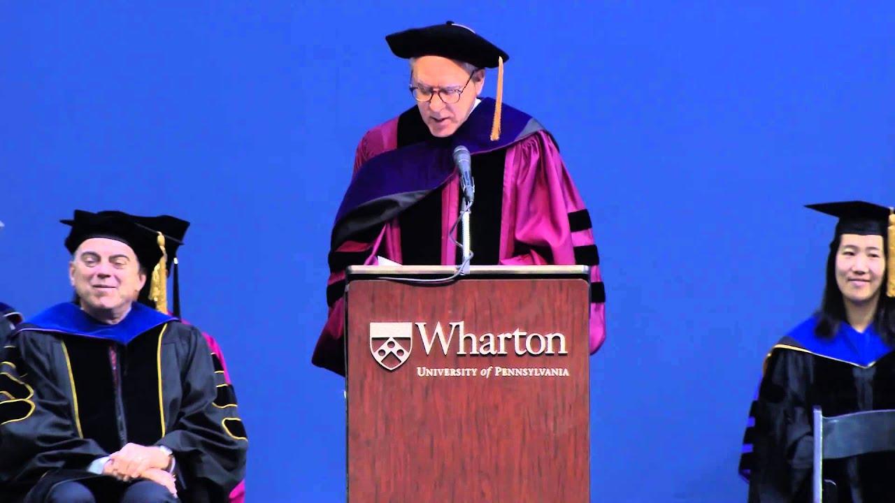 David Rubenstein: 2014 Wharton MBA Commencement - YouTube