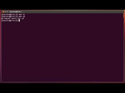 Linux Commands For Beginners (Old Version): 03 - Ask The Man