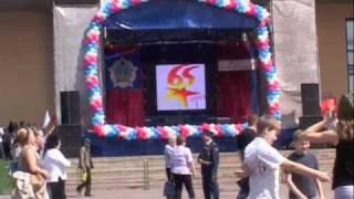 КПЦ УНИСОН — Озвучивание праздника (9 мая 2010, Мытищи)
