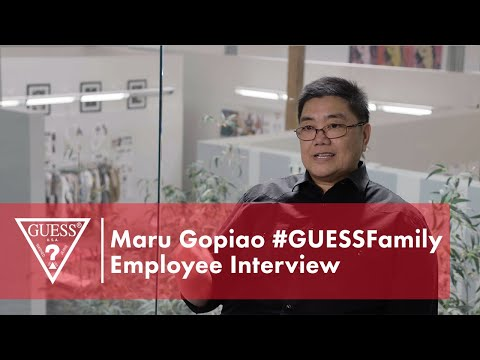 Maru Gopiao #GUESSFamily Employee Interview<br><br...
