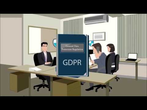 Welcome to GDPR  - Data Protection online training demonstration video