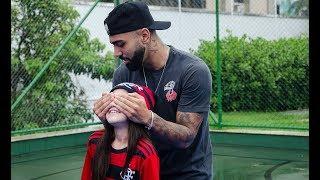 Matéria do Esporte Espetacular com a Princesa Rubro Negra e Gabigol