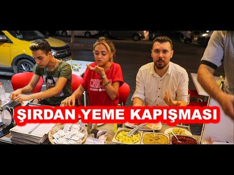 YEME REKORTMENİ CEREN YILMAZ İLE ŞIRDAN YEME YARIŞMASI(Adana şırdan)
